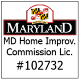 UrbanBuilt of Baltimore MD carries a Maryland Home Improvement Commission License